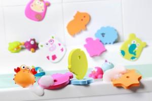 Kubek do mycia główki oraz pojemnik na zabawki kąpielowe