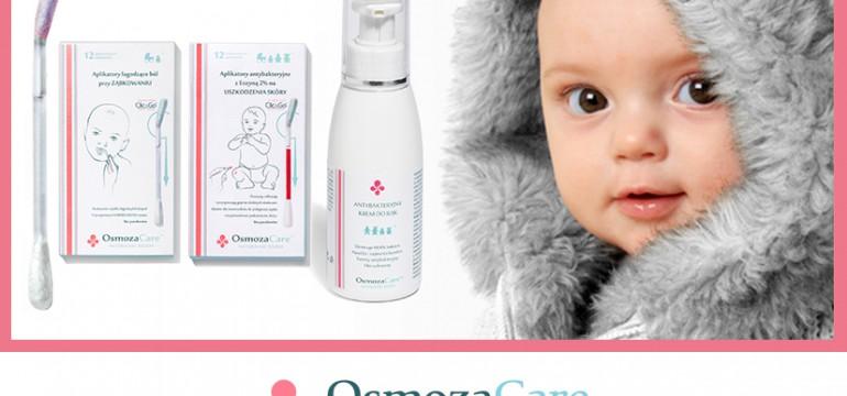 Aplikatory łagodzące ból przy ząbkowaniu w technologii Click&Go od OsmozaCare