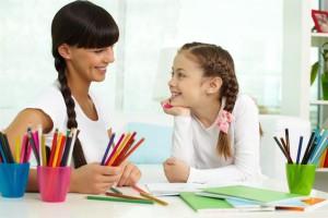 rysowanie obrazków z dzieckiem
