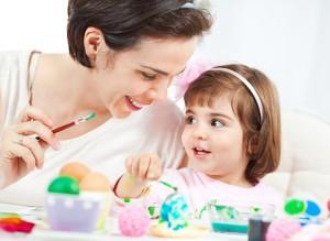 malowanie wydmuszek z dzieckiem