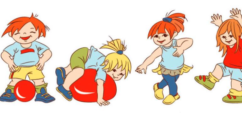 Dziecko i ruch aktywność fizyczna dziecka