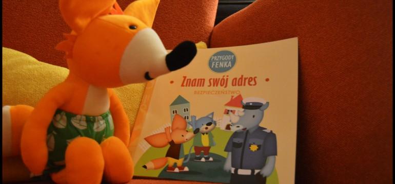 Fenek bezpieczeństwo dziecko zna swój adres czytanie dzieciom