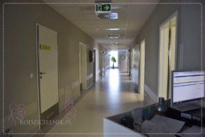 korytarz widok na sale