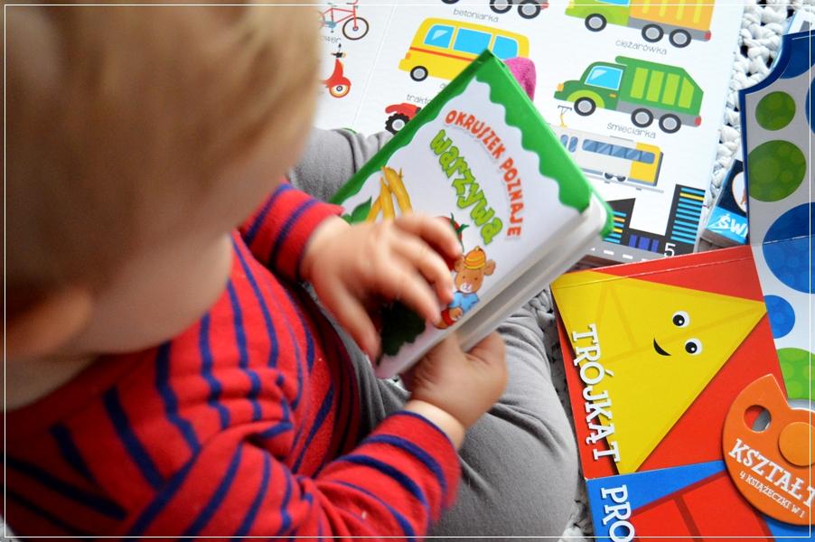 Książeczka na roczek dla chłopca
