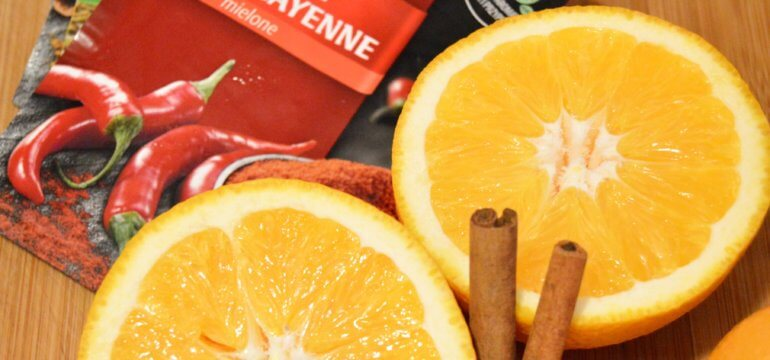 rozgrzewająca pomarańcza